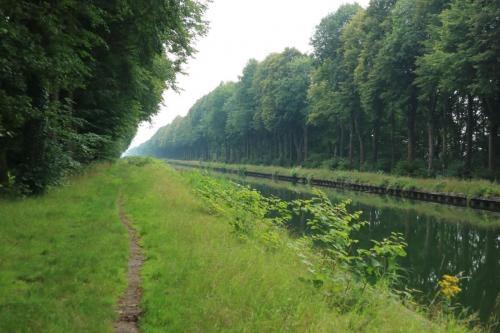 Kanaal Dessel-Turnhout-Schoten tussen Brecht en Sint-Lenaarts