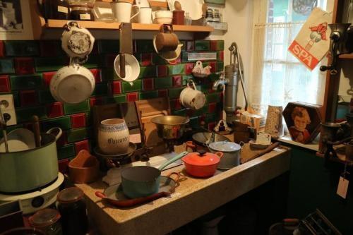 De keuken van vroeger